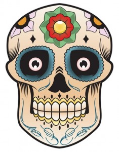 Mask for Day of the Dead