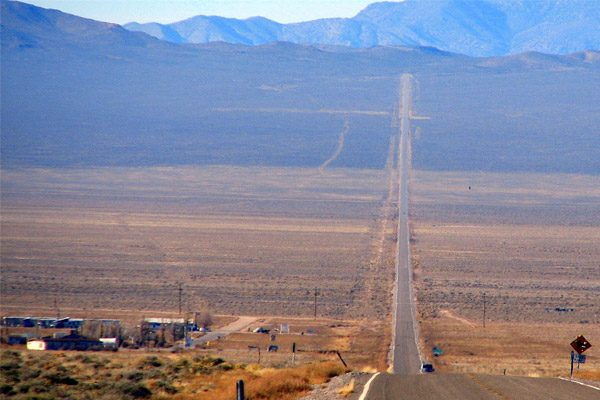 Tiny town called Rachel on the Extraterrestrial Highway