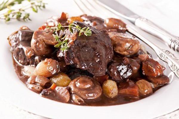 boeuf-bourguignon Burgundian beef stew