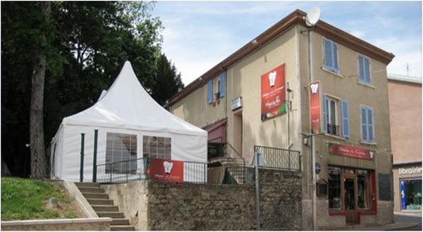 The Atelier du Cuisinier in the township of Villie-Morgon